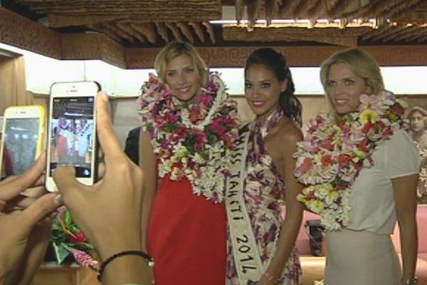 Miss france 2015, miss tahiti et sylvie tellier