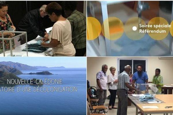 Emission spéciale Référendum en Nouvelle-Calédonie