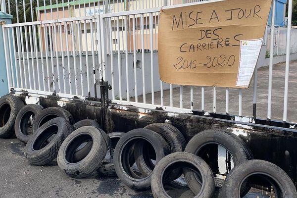 Grève de l'UTC-UGTG : écoles fermées à Sainte-Rose