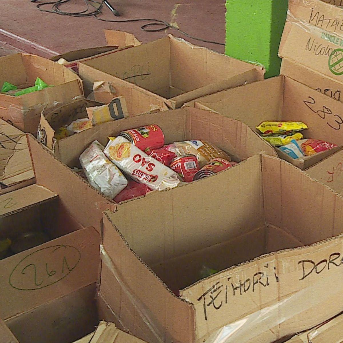 Solidarité : 300 familles aidées pour les fêtes de fin d'année