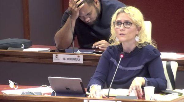 Coronavirus, séance de la commission permanente du Congrès, 11 avril 2020, Viriginie Ruffenach, Milakulo Tukumuli