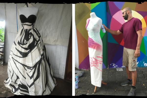 Street art version couture : le défilé en direct sur Polynésie 1ère
