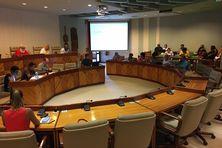 Assemblée de la province Nord du 19 février, sans les élus UC.