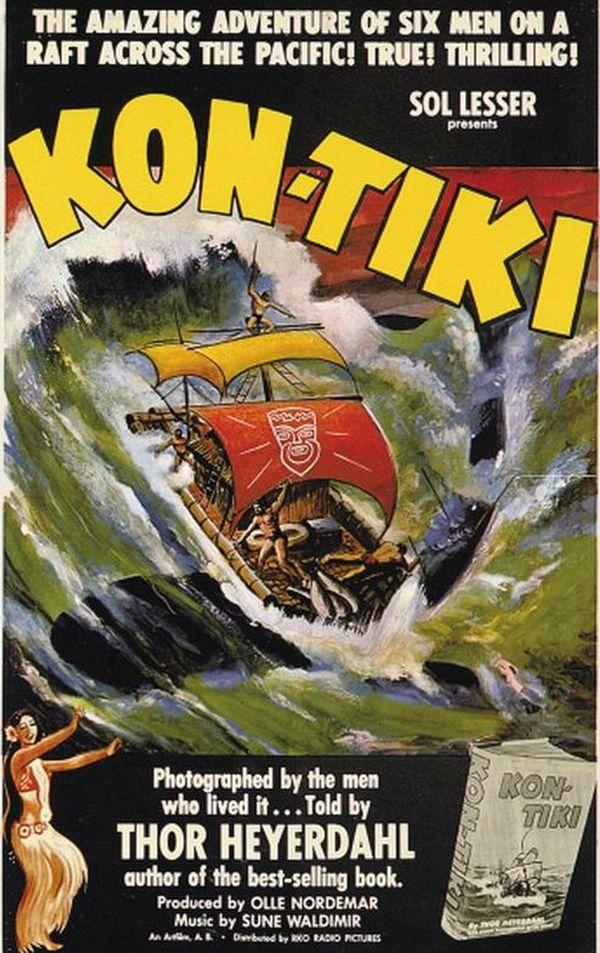 Couverture du livre Kon Tiki
