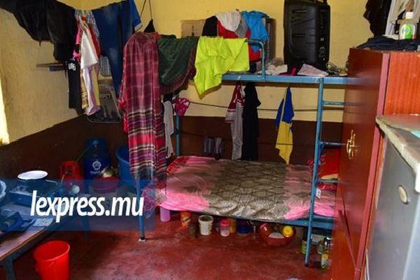 Logement et condition de vie indigne d'ouvrier Bangladais à Maurice