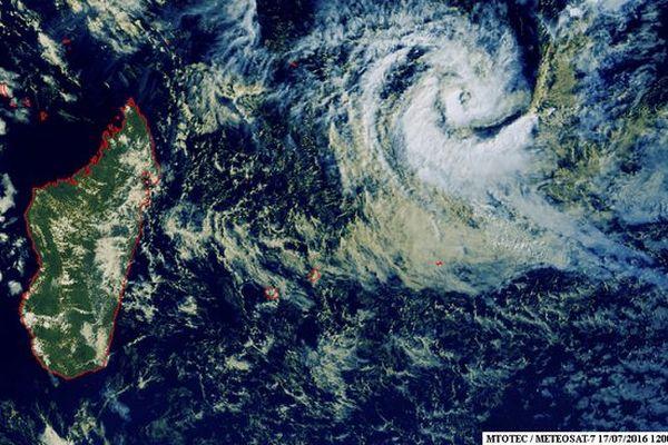 Abela tempête tropicale modérée
