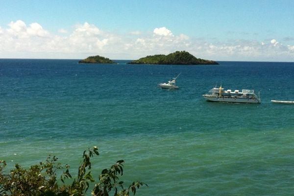 Ilets Cousteau, Malendure, Bouillante, Guadeloupe