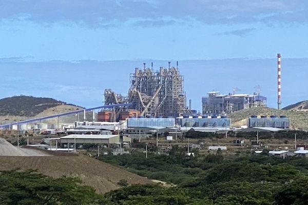 Usine du Nord KNS, Koniambo Nickel, 2020