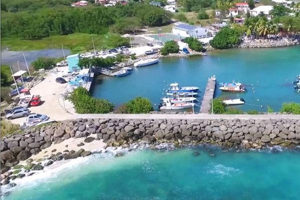 Port de Saint Félix au Gosier