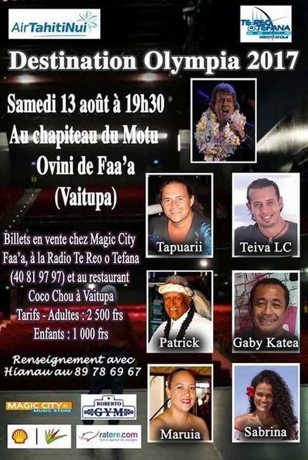 affiche concert gabilou tahiti