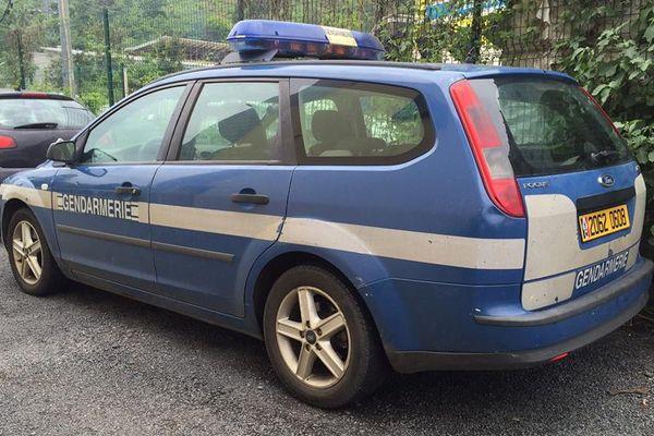 Véhicule de gendarmerie à Mayotte