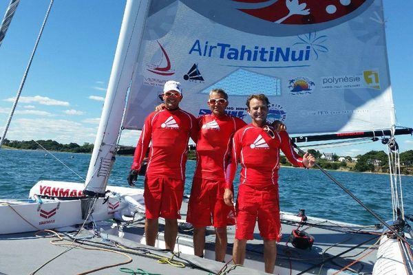 Trésors de Tahiti 2e du raid à Baden