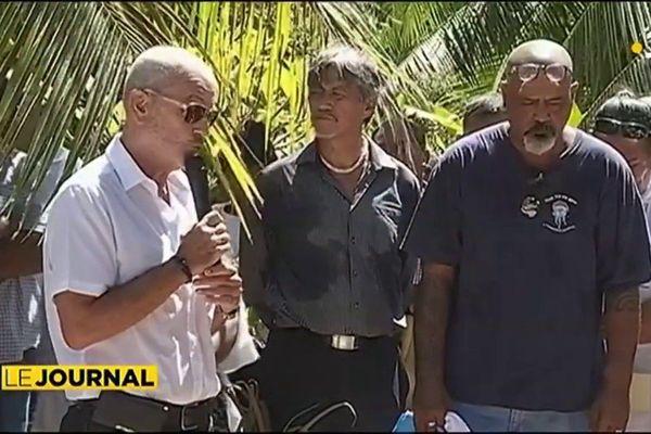 Ronald Terorotua : Dernier  voyage à Moorea