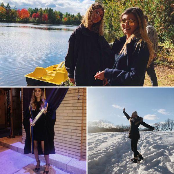 Alexa a choisi d'étudier au Canada, à l'université de Montréal