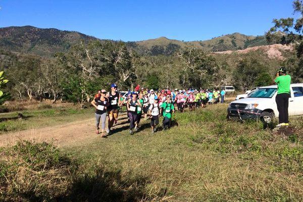 La Transcool était organisée cette année pour s'initier en douceur à la course