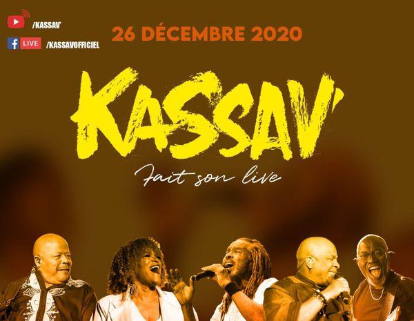 Facebook live Kassav