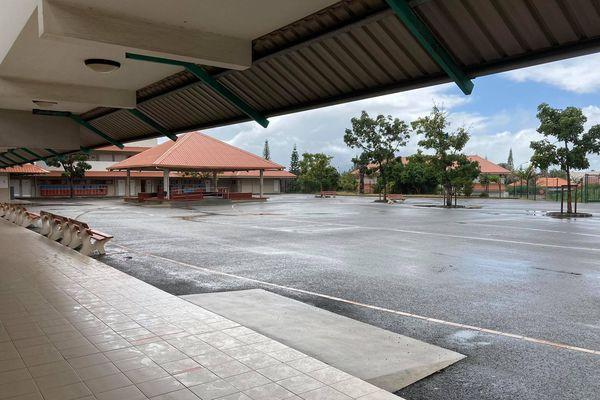 Comme les autres établissements scolaires, le collège nouméen de Tuband fermé, dès mardi 7 septembre.