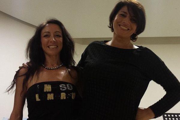 Yana Boukoff et Emilie Benterfa