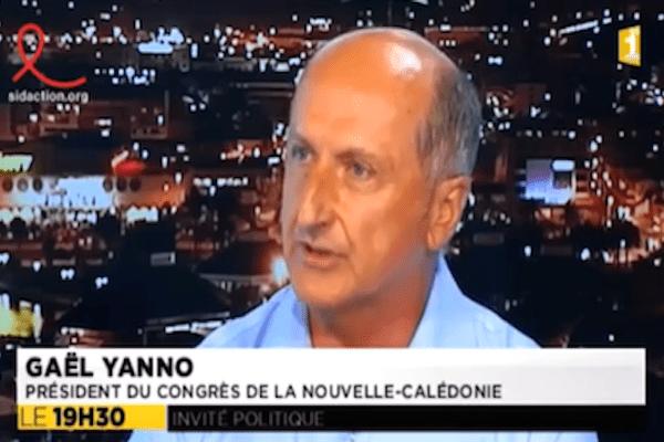 Gaël Yanno Invité du JT 29/03/2015
