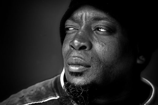 Homme noir USA