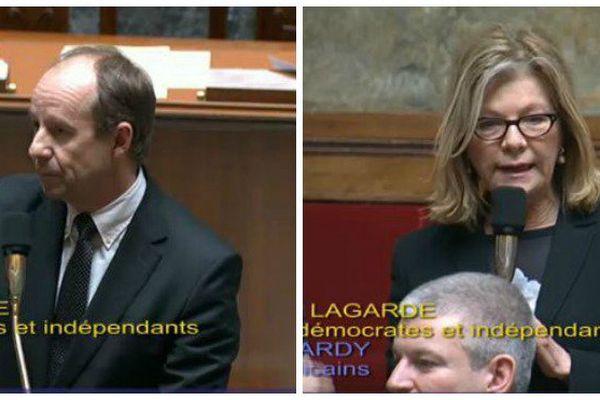 Jean-Jacques Urvoas et Sonia Lagarde