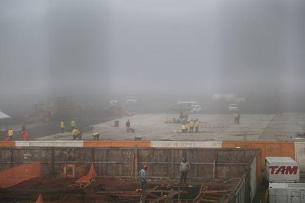 chantier aéroport