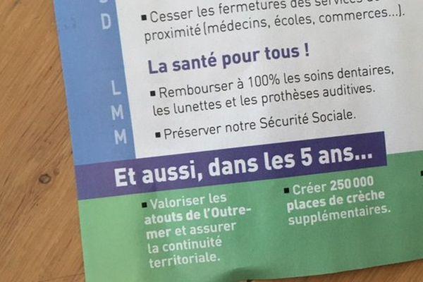 Dupont-Aignan tract