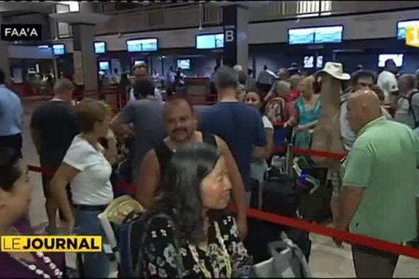 Air France en grève et un premier vol annulé