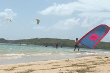 Sports nautiques en Martinique.