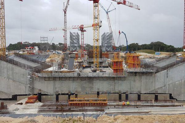 Le chantier Ariane 6 (31 janvier 2018)