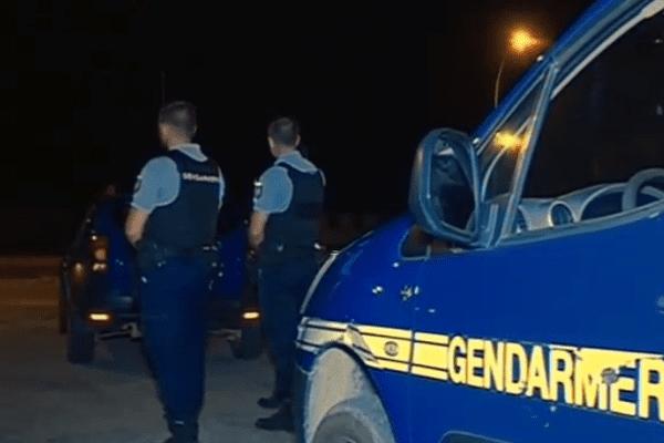 Les gendarmes à Saint-Laurent