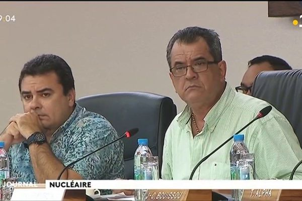 Nucléaire : Le mea-culpa d'Edouard Fritch.