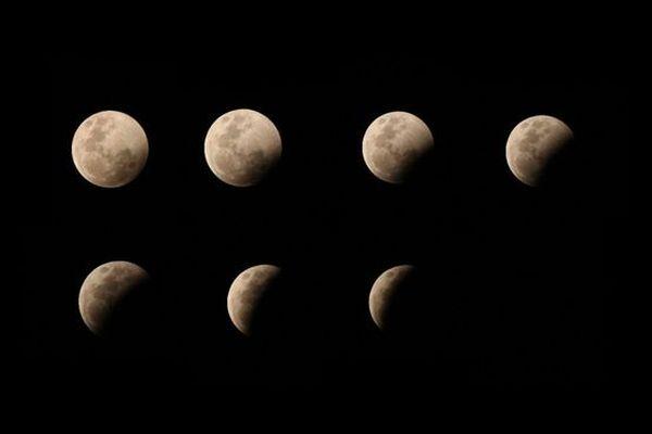 évolution éclipse de lune