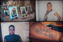 Les photos de Clarissa Jean-Philippe, sur le corps de sa maman, et partout dans la maison familiale à Sainte-Marie.