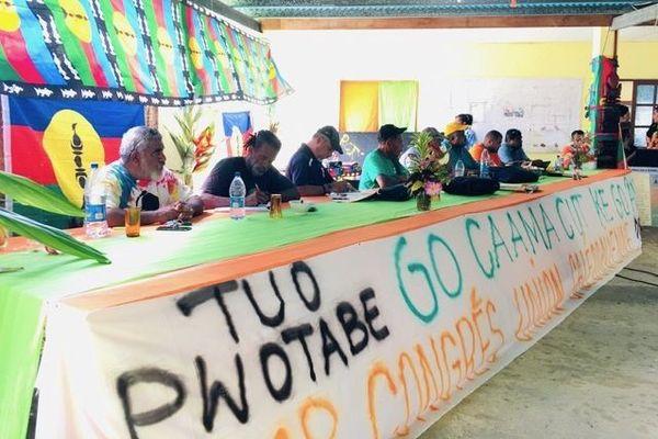 51e congrès de l'Union calédonienne à Touho Mission, 6 novembre 2020