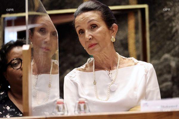 Huguette Bello est la nouvelle présidente de Région.