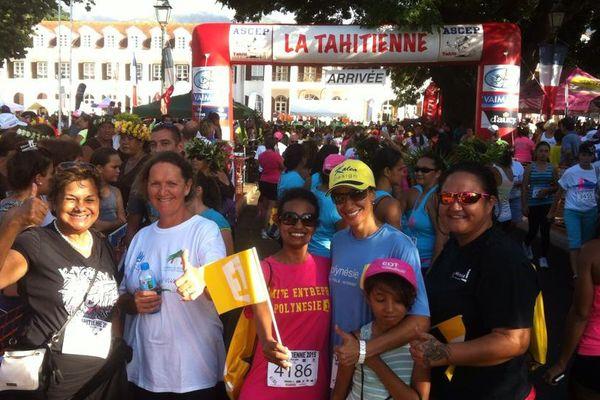 Course la Tahitienne 2015 - Coureuses Polynésie 1ère 3