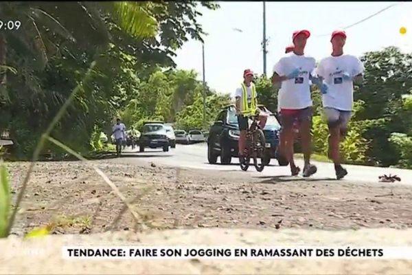 Tendance: Faire son jogging en ramassant des déchets