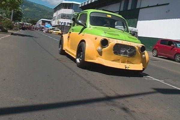 Fare Ute transformé en circuit automobile