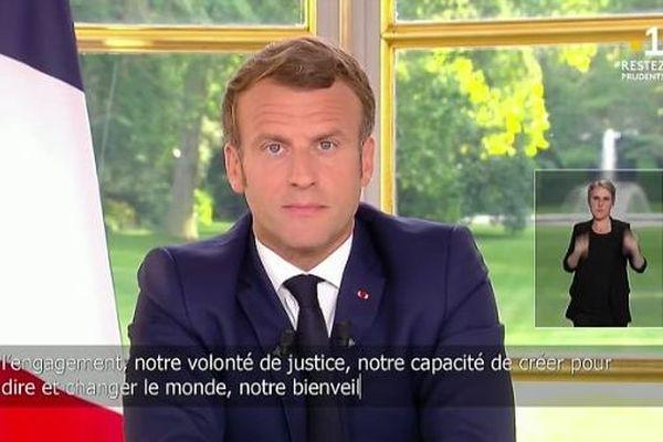 Allocution du président de la République : 3ème acte du déconfinement