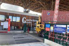 L'entrée du Grand Port maritime de Guyane