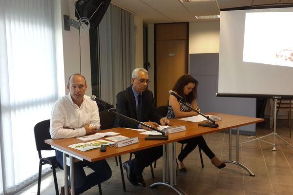 Les responsables de l'Agence Régionale de Santé présentent les résultats de l'étude
