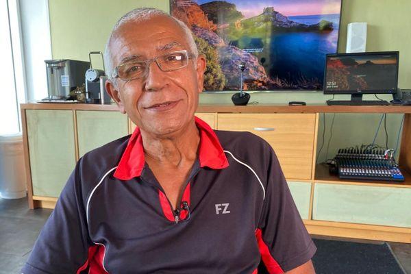 Michel Dubouillé, secrétaire général de Guyane Ecologie les Verts