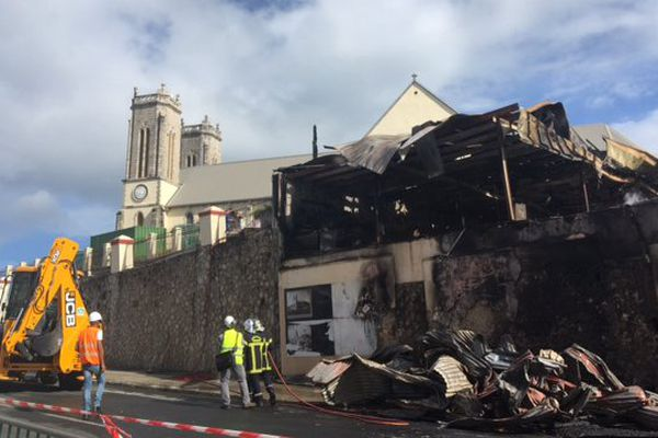 incendie cathedrale