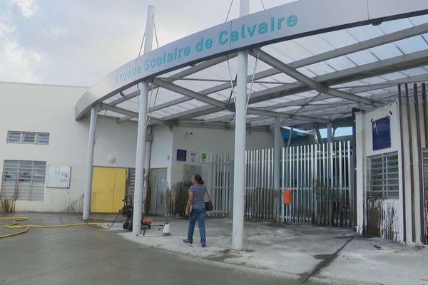 L'école de Calvaire victime d'actes de vandalisme