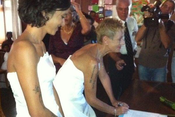 Premier mariage homosexuel à La Réunion...