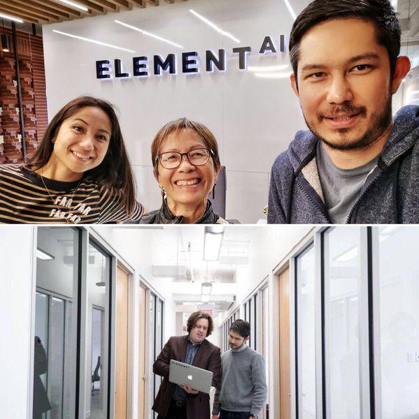 Le Calédonien a rejoint une start-up spécialisée dans l'intelligence artificelle en 2017