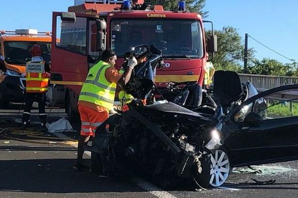 Accident à Saint-Benoît