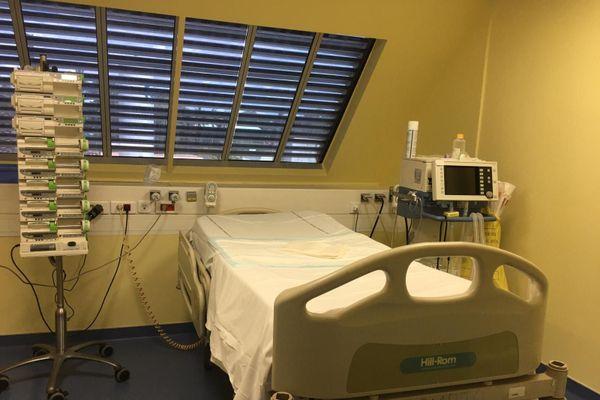 Une chambre de réanimation affectée aux patients covid