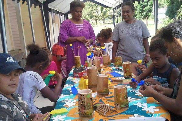 Des vacances culturelles pour les enfants de Kouaoua